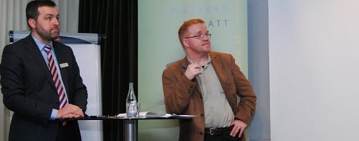 Johan Eklund och Roger Svensson