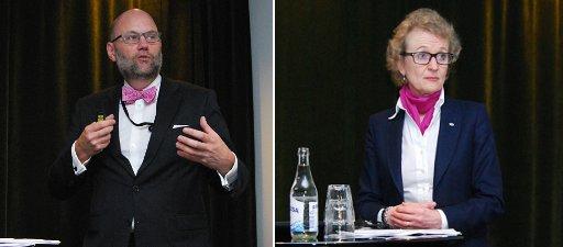 Mikael Lundholm och Susanne Ås Sivborg