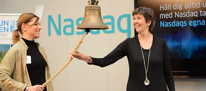 Inringng börsen Ann-Sofie Gunnarsson Katarina Lindahl