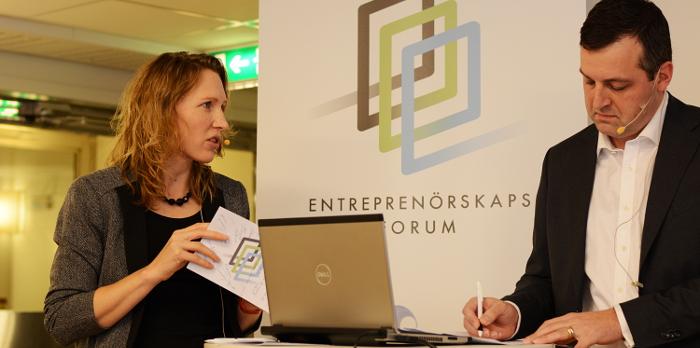 Pernilla Norlin och Johan Eklund
