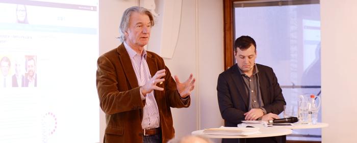 Anders Wijkman och Johan Eklund