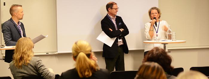 Andreas Bergström, Håkan Sörman, Anne Carlsson.