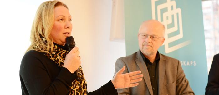 Susanne Andersson Pripp och Stig Henriksson