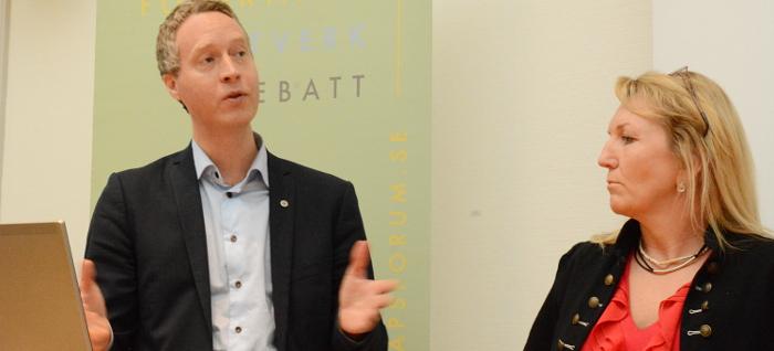 Petter Arneback och Pialill Ring