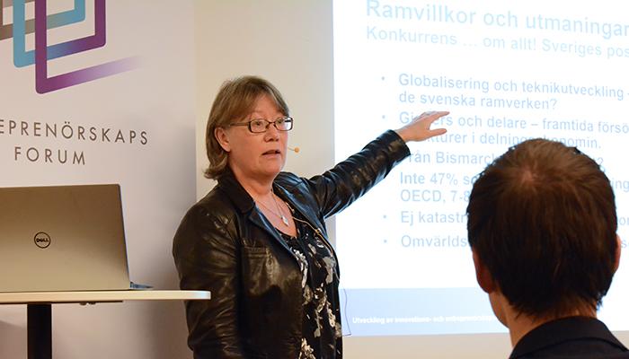 maria lindqvist, Entreprenörskapsutredningen